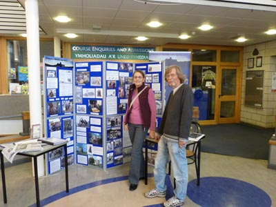 Linda and Stuart at PCNP Archaeology Day