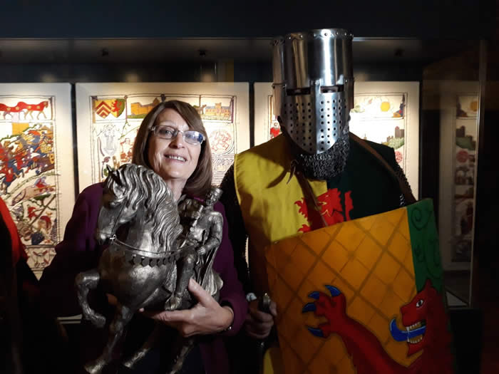 At the William Marshal Festival, Pembroke Castle