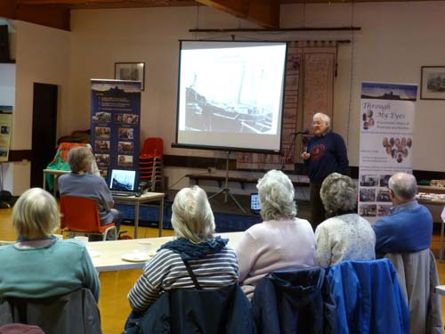 David James talks about Hancocks Yard where the maritime museum is based